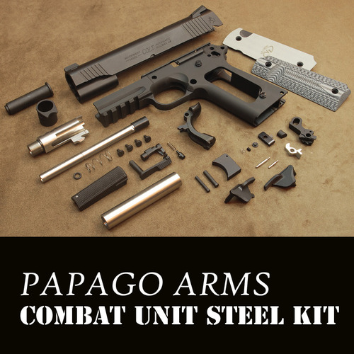 [입고완료] PAC Combat Unit Steel Kit-Black