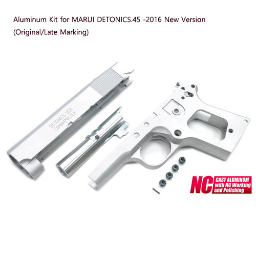 Aluminum Kit for MARUI DETONICS.45 -2016 New Version (Original/Late Marking)