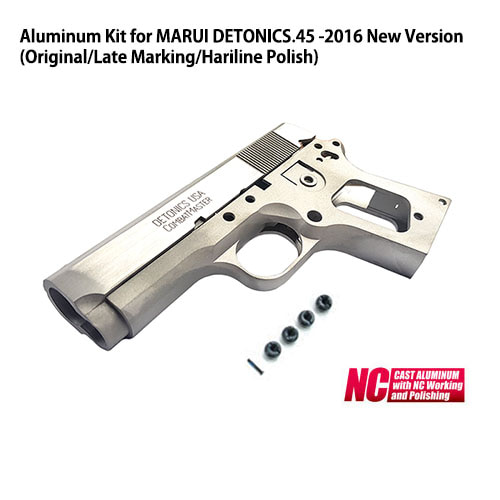 Aluminum Kit for MARUI DETONICS.45 -2016 New Version (Original/Late Marking/Hariline Polish)