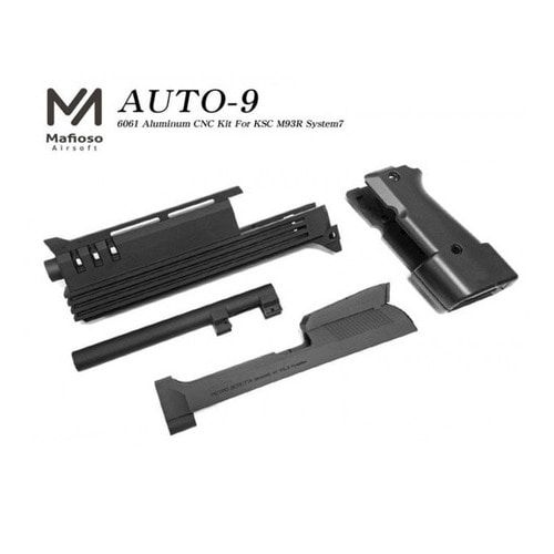 Mafioso Airsoft CNC Aluminum Conversion Kit for KSC M93R II (System7) / M93R Auto 9C GBB