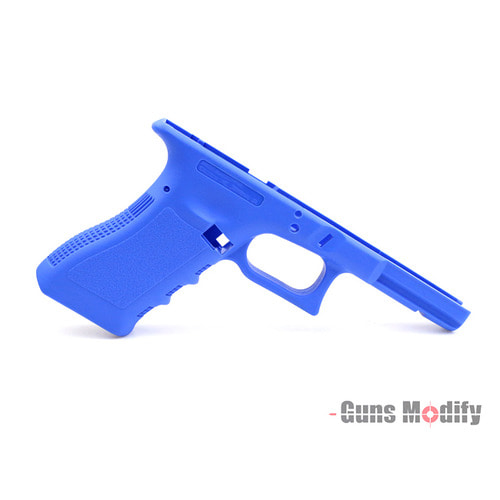 Guns Modify CNC Polymer Gen 3 RTF Frame for Tokyo Marui Model 17 Law Enforcement Training Blue