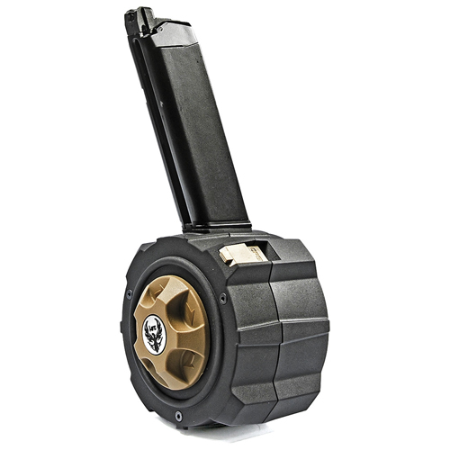 HFC HD Drum Mag for Glock 17, 18