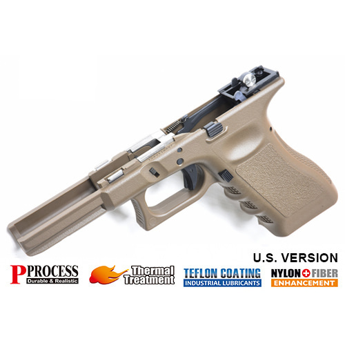 '입고'가더社 New Generation Frame Complete Set for MARUI G17/22/34 (tan)