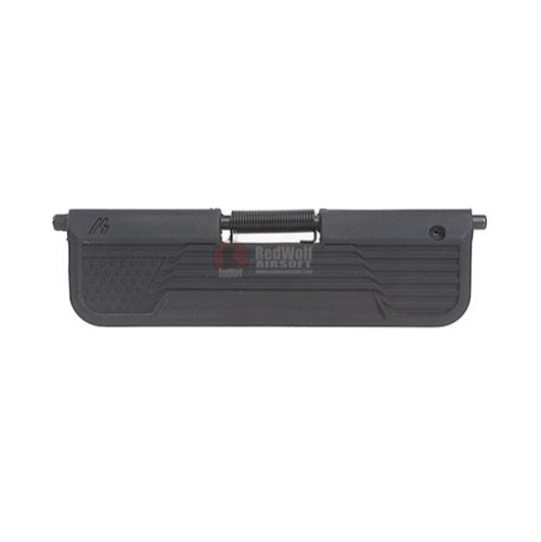 Strike Industries AR Ultimate Dust Cover with Flag Design for M4 GBB Series - Black