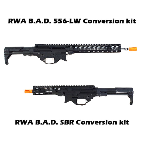 B.A.D. GBBR Full Conversion Kit For Marui MWS