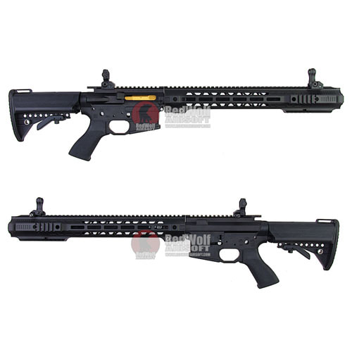 EMG SAI Gas Blow Back Kit For Tokyo Marui M4 MWS GBBR (Long) - Black (by G&P)