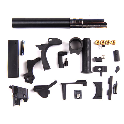 Nova Colt S70 CNC STEEL Slide & Frame Kit Marui Airsoft 1911 series Black
