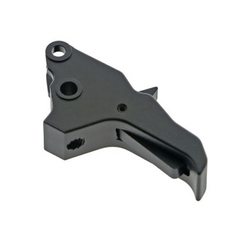 COWCOW Technology AluminiumTactical Trigger Tokyo Marui M&P9 GBB Pistol - [Silver,Black]