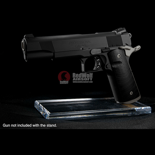 GK Tactical Thick Acrylic Pistol Display Stand