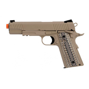 WE M45A1 Full Metal Rail Gun GAS Blowback Airsoft Pistol