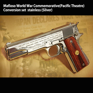 Mafioso World War Commemorative(Pacific Theatre) - Conversion set  stainless (Silver)