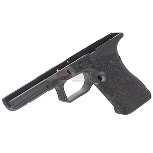 Guns Modify Polymer Gen 3 RTF Frame (Stippling AGC Style) for Tokyo Marui Model 17 - Black