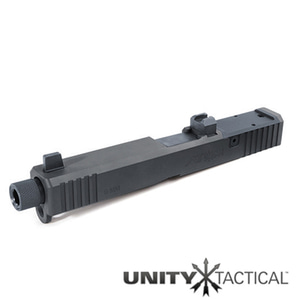 PTS Unity Tactical ATOM Slide for Tokyo Marui G Series 17 GBB - BK