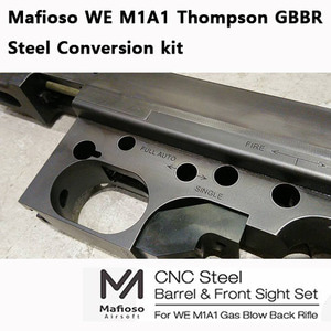 Mafioso Airsoft WE M1A1 Thompson GBBR Steel Conversion kit
