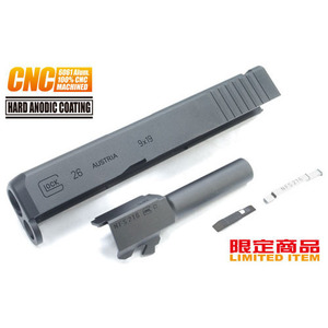 가더社 Steel CNC Slide & Barrel Kit For TM G26