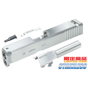 가더社 Stainless CNC Slide & Barrel Kit For TM G26