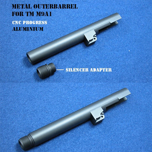 SILENCER TYPE OUTERBARREL-TM M9A1