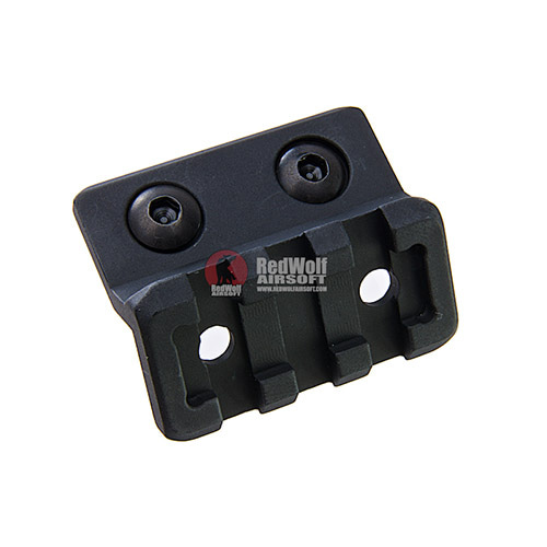 GK Tactical Aluminium Offset M-LOK Mount w/ Rail - Black