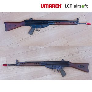 Umarex/ VFC G3A3 GBBR (GSI 감속기 장착) +LCT G3용 Wooden Handguard and Stock Set(Limited Product)