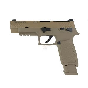 WE F17 SIGSAUER M17 P320 TAN  가스건