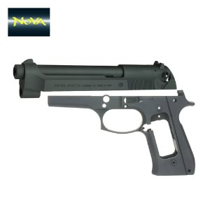Nova CNC Steel Slide & Aluminum Frame Kit for Marui Airsoft M9 GBB series - Limited M92FS version