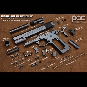 PAC M1911 Pre-war Steel Kit [weathering Ver.]