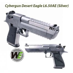 WE DESERT EAGLE L6 Silver