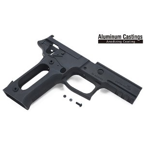 가더社 Aluminum Frame For MARUI P226R (Late Ver. Marking/Black)