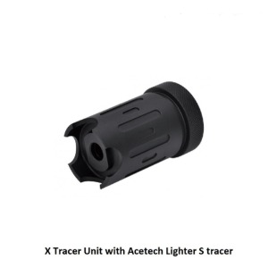 Silencer Co Blast Shield Tracer Ready with ACETECH Lighter S Tracer - 14mm CCW (by Dytac)