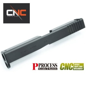 가더 Steel(강철) CNC Slide for MARUI Glock17 Gen4 (Black)