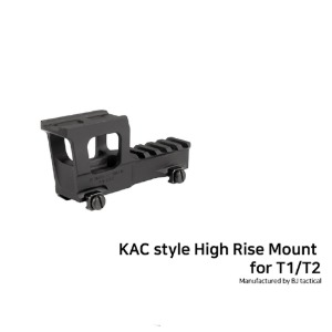 [BJ] KAC style High Rise Mount for T1/T2
