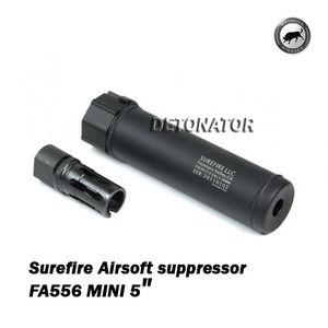 Surefire Airsoft suppressor FA556 MINI 5""