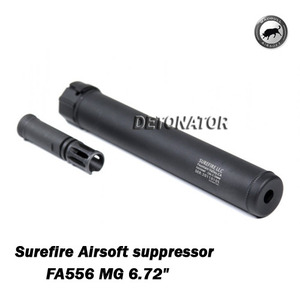 Surefire Airsoft suppressor FA556 MG 6.72""