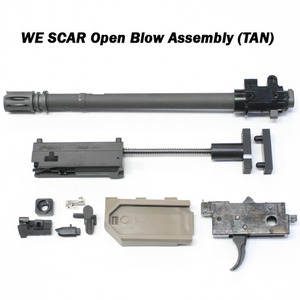WE SCAR Open Blow Assembly (tan) 신형