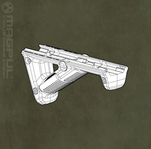 Magpul PTS AFG 2 Angled Fore Grip(BK)