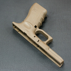 GLOCK-17 Original Frame for MARUI G-17 (TAN)
