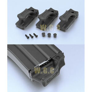 Magpul PTS Ranger Floor Plate(3Pack) for Marui & PTW Mag(BK)