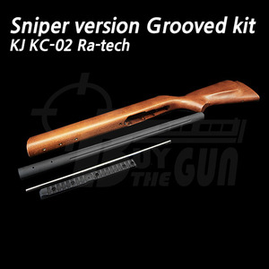 KJ KC-02 Ra-tech Sniper version Grooved kit (L)