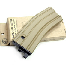 WE 30 Rds Magazine for M4 Series ( Open-Chamber System, Tan )