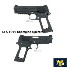 SFA 1911 Champion Operator Slide and Framefor Marui MEU -Matt Black